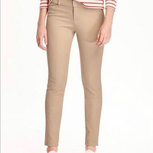 Old Navy Midrise Full Length Pixie Pant Khaki